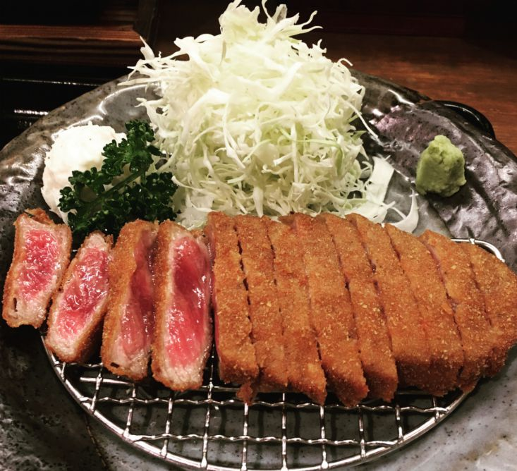 Image result for beef cutlet kichijoji